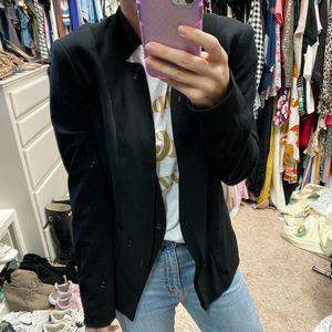 Neiman Marcus brand size small mock neck blazer